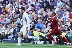 May 14, 2017 - Madrid, Madrid, Spain - Mateo Kovacic (midfielder; Real Madrid) in action during La Liga match between Real Madrid and Sevilla at Santiago Bernabeu on May 14, 2017 in Madrid (Credit Image: © Jack Abuin via ZUMA Wire)