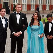 NLD/Apeldoorn/20070901 - Viering 40ste verjaardag Prins Willem Alexander, aankomst Guillaume, Alois of Liechtenstein, Sophie