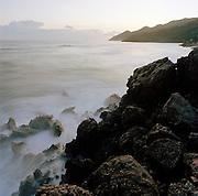 Rocks on the coastline of Petit-Goâve, Haiti
