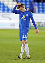 Chris Forrester of Peterborough United cuts a dejected figure at full-time - Mandatory byline: Joe Dent/JMP - 16/01/2016 - FOOTBALL - ABAX Stadium - Peterborough, England - Peterborough United v Southend United - Sky Bet League One