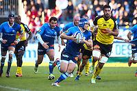 Max Evans - 03.01.2015 - Castres / La Rochelle - 15eme journee de Top 14 - <br />Photo : Laurent Frezouls / Icon Sport