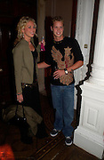 Holly Branson and Sam Branson. Paris Hilton's Fragrance Launch Party at Il Bottaccio, Grosvenor Place. London. 16 May 2005. . ONE TIME USE ONLY - DO NOT ARCHIVE  © Copyright Photograph by Dafydd Jones 66 Stockwell Park Rd. London SW9 0DA Tel 020 7733 0108 www.dafjones.com