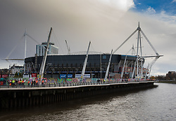 A general view of Principality Stadium, home of Wales<br /> <br /> Photographer Simon King/Replay Images<br /> <br /> Under Armour Series - Wales v Australia - Saturday 10th November 2018 - Principality Stadium - Cardiff<br /> <br /> World Copyright © Replay Images . All rights reserved. info@replayimages.co.uk - http://replayimages.co.uk