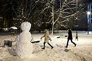Zimowy nocny Białystok - 26.01.2021