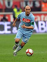 Fotball<br /> Italia<br /> Foto: Inside/Digitalsport<br /> NORWAY ONLY<br /> <br /> Paolo Cannavaro (Napoli)<br /> <br /> 21.03.2010<br /> Milan v Napoli 1-1<br /> Campionato di calcio di Serie A 2009/2010