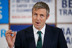 © Licensed to London News Pictures. 12/04/2016. London, UK. Conservative's Mayor of London candidate ZAC GOLDSMITH launching his manifesto at Open Door Community Centre in Wimbledon on Tuesday, 12 April 2016. Photo credit: London News Pictures