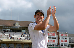 File photo dated 23-08-2015 of England captain Alastair Cook who will receive a knighthood after he was named in the New Year Honours list.