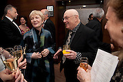 JANE WILSON; BRUCE DAVIDSON WINNER OF THE AWARD FOR OUTSTANDING CONTRIBUTION TO PHOTOGRAPHY, , DINNER AFTER THE AWARDS AT THE INTERCONTINENTAL.   Sony World Photography Awards 2011 Gala Ceremony at the ODEON Leicester Square, 27 April 2011. -DO NOT ARCHIVE-© Copyright Photograph by Dafydd Jones. 248 Clapham Rd. London SW9 0PZ. Tel 0207 820 0771. www.dafjones.com.