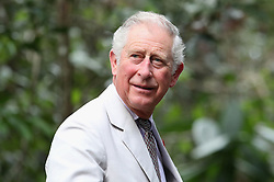 The Prince of Wales during a visit to the Sarawak Semenggoh Wildlife Rehabilitation Centre in Kuching, Malaysia.