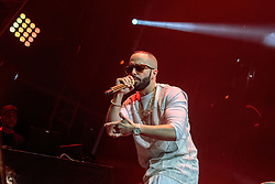 LOS ANGELES, CA - JAN 24: Puerto Rican reggaeton musician, songwriter and record producer Yandel performs onstage during Calibash 2016 held at Staples Center on January 24, 2016 in Los Angeles, California. CALIBASH 2016, hosted by KXOL Mega 96.3FM, La Musica and produced by AEG Live and Latin Events. Byline, credit, TV usage, web usage or linkback must read SILVEXPHOTO.COM. Failure to byline correctly will incur double the agreed fee. Tel: +1 714 504 6870.