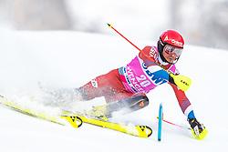 19.01.2020, Lauberhorn, Wengen, SUI, FIS Weltcup Ski Alpin, Slamon, Herren, 1. Lauf, im Bild Alexander Khoroshilov (RUS) // Alexander Khoroshilov of Russian Federation in action during his 1st run of men's Slalom of FIS ski alpine world cup at the Lauberhorn in Wengen, Switzerland on 2020/01/19. EXPA Pictures © 2020, PhotoCredit: EXPA/ Johann Groder