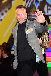James Jordan enters the Celebrity Big Brother house at Elstree Studios in Borehamwood, Herfordshire, during the latest series of the Channel 5 reality TV programme.
