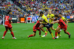 June 5, 2017 - Saint Denis, Seine Saint Denis, France - ITURIA player of the ASM Clermont-Auvergne, during the final of the French Rugby Championship Top 14 against Rugby Club Toulonnais at the Stade de France - St Denis France (Credit Image: © Pierre Stevenin via ZUMA Wire)