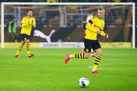 Bundesliga 2020: Borussia Dortmund - 1. FC Köln (5-1). Borussia Dortmunds Erling Braut Haaland i bundesligakampen i fotball mellom Borussia Dortmund og 1. FC Köln på Signal Iduna Park.