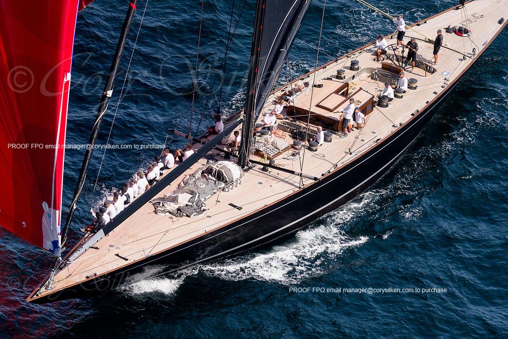 Svea sailing in the J Class World Championship, day five.