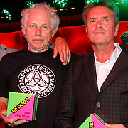 NLD/Amsterdam/20120918 - Cd Box presentatie Doe Maar , Ernst Jansz, Jan Hendriks, Henny Vrienten,Jan Pijnenburg