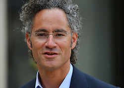 Alex Karp, co-founder and CEO of the software firm Palantir Technologies, leaves after the 'Tech for Good' summit at the Elysee Palace in Paris, France on May 23, 2018. Photo by Christian Liewig/ABACAPRESS.COM