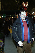 Richard Kind at The Macy's Balloon Inflation session held at West 79th and Central Park West on November 26, 2008 in New York City..A tradition since 1927, the giant character balloons are slowly blown up and brought to life in the streets around the American Museum of Natural History. The enormous balloons take up two full city blocks. Nets and sandbags are used to keep the balloons from escaping during the night.
