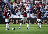 Football - 2018 / 2019 Premier League - West Ham United vs. Wolverhampton Wanderers<br /> <br /> West Ham United's Carlos Sanchez (right) dejected as Wolverhampton Wanderers' Adama Traore scores the winning goal, at The London Stadium.<br /> <br /> COLORSPORT/ASHLEY WESTERN