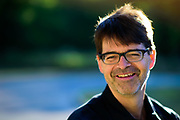 Consultant and biking enthusiast David Wunsch is photographed near his Oak Park, Il home on Saturday, Saptember 5th. ©2020 Brian J. Morowczynski ViaPhotos