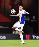 Sam Woods (35) of Crystal Palace during the EFL Cup match between Bournemouth and Crystal Palace at the Vitality Stadium, Bournemouth, England on 15 September 2020.