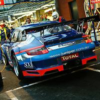 #75 Porsche 997 GT3 RSR, Juniper Racing (drivers: Shaun Juniper, Max Twigg, Craig Baird, Rodney Forbes) at Spa 24H, 2008