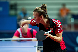 Partyka Natalia of Poland plays final match during Day 4 of SPINT 2018 - World Para Table Tennis Championships, on October 20, 2018, in Arena Zlatorog, Celje, Slovenia. Photo by Vid Ponikvar / Sportida
