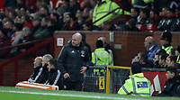 Football - 2016 / 2017 League [EFL] Cup - Quarter-Final: Manchester United vs. West Ham United<br /> <br /> Notes are taken to the bench in the absence of Jose Mourinho of Manchester United  , at Old Trafford.<br /> <br /> COLORSPORT/LYNNE CAMERON
