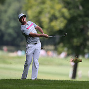 Rory McIlroy in action during the fourth round of theThe Barclays Golf Tournament at The Ridgewood Country Club, Paramus, New Jersey, USA. 24th August 2014. Photo Tim Clayton