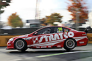 David Renolds (Stratco Racing). ITM 400 ~ Race 5 & 6 of the 2011 V8 Supercar Championship Series. Hamilton Street Circuit on Friday 15 April 2011. Photo © Clay Cross / PHOTOSPORT