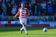 Herbie Kane of Doncaster Rovers (15) passes the ball during the EFL Sky Bet League 1 match between Doncaster Rovers and Coventry City at the Keepmoat Stadium, Doncaster, England on 4 May 2019.