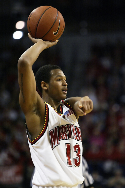 University of Maryland guard Chris McCray against Boston College at the Comcast Center