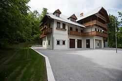 Svicarija, rebuilded house in Tivoli, on May 8, 2017, in Ljubljana, Slovenia. Nov ustvarjalni center in prenovljen nekdanji hotel Tivoli, Švicarija. Photo by Anze Petkovsek / Sportida