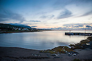 After sunset shot from the bay of Gros Mourne in the Unesco world heritage sight, Gros Mourne National Park, Newfoundland, Canada