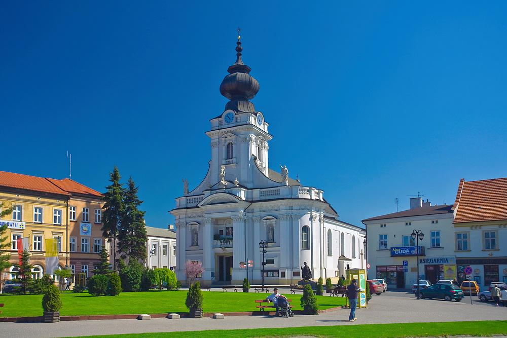 Bazylika Ofiarowania Najświętszej Maryi Panny w Wadowicach, Polska<br /> Basilica of Presentation of Virgin Mary in Wadowice, Poland