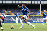 Everton forward Theo Walcott (11) during the Premier League match between Everton and Bournemouth at Goodison Park, Liverpool, England on 26 July 2020.