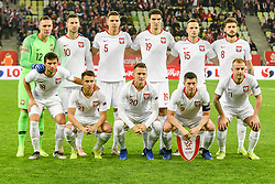 November 15, 2018 - Gdansk, Poland, Team of Poland during football friendly match between Poland - Czech Republic at the Stadion Energa in Gdansk, Poland
