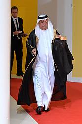 July 7, 2017 - Hamburg, Deutschland - Ibrahim Abdulaziz Al-Assaf State Minister Saudi Arabia.Offizielle Begruessung der G20-Staats- und Regierungschefs, Hamburg, Germany - 07 Jul 2017.Credit:.Credit: Timm/face to face (Credit Image: © face to face via ZUMA Press)