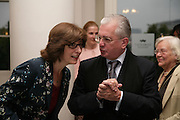 Dr. Deborah Swallow and Prof Mikhail Piotrovsky, France in Russia:  Empress Josephine's Malmaison Collection. Hermitage Rooms, Somerset House. London. 23 July 2007.   -DO NOT ARCHIVE-© Copyright Photograph by Dafydd Jones. 248 Clapham Rd. London SW9 0PZ. Tel 0207 820 0771. www.dafjones.com.