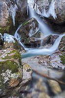 The Myra Falls in winter - not far from Vienna.