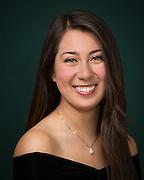 Elizabeth Delegeane poses for her High School Senior portrait in San Jose, California, on March 30, 2014. (Stan Olszewski/SOSKIphoto)