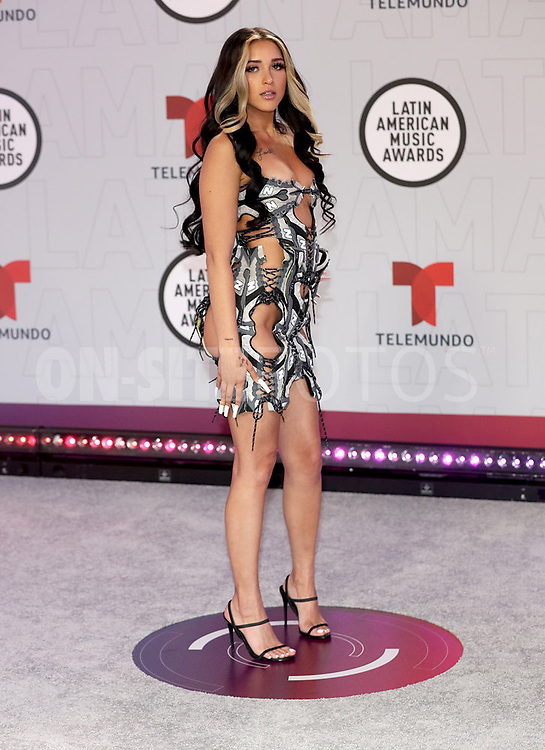 """2021 LATIN AMERICAN MUSIC AWARDS -- """"Red Carpet"""" -- Pictured: Mariah Angeliq at the BB&T Center in Sunrise, FL on April 15, 2021 -- (Photo by: Aaron Davidson/Telemundo)"""