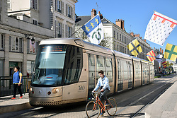 Tram, Orleans, Loire Valley, France