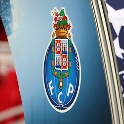 March 6, 2018 - Liverpool, U.S. - 6th March 2018, Anfield, Liverpool, England; UEFA Champions League football, round of 16, 2nd leg, Liverpool versus FC Porto; the FC Porto club crest on the UEFA Champions League arch over the player's tunnel (Photo by Dave Blunsden/Actionplus/Icon Sportswire) ****NO AGENTS---NORTH AND SOUTH AMERICA SALES ONLY****NO AGENTS---NORTH AND SOUTH AMERICA SALES ONLY* (Credit Image: © Dave Blunsden/Icon SMI via ZUMA Press)