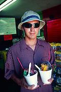 Jo Jo's shave ice, Waimea, Kauai, Hawaii<br />