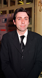 Comedian SEAN HUGHES at a reception in London on 3rd February 2000.<br /> OAS 9