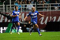 FOOTBALL - FRENCH CHAMPIONSHIP 2012/2013 - L1 - ES TROYES v OLYMPIQUE MARSEILLE  - 21/10/2012 - PHOTO JEAN MARIE HERVIO / REGAMEDIA / DPPI - JOY BENJAMIN NIVET (ESTAC) AFTER HIS GOAL