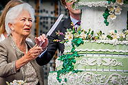 royal family celebrating the early 80th anniversary of Belgium Queen Paola,