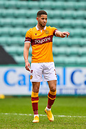 Jake Carroll (#3) of Motherwell FC during the SPFL Premiership match between Hibernian FC and Motherwell FC at Easter Road, Edinburgh, Scotland on 27 February 2021.