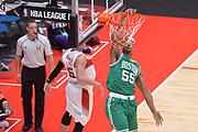 DESCRIZIONE : Milano NBA Global Games EA7 Olimpia Milano - Boston Celtics<br /> GIOCATORE : Jordan Mickey<br /> CATEGORIA : Schiacciata sequenza<br /> SQUADRA :  Boston Celtics<br /> EVENTO : NBA Global Games 2016 <br /> GARA : NBA Global Games EA7 Olimpia Milano - Boston Celtics<br /> DATA : 06/10/2015 <br /> SPORT : Pallacanestro <br /> AUTORE : Agenzia Ciamillo-Castoria/IvanMancini<br /> Galleria : NBA Global Games 2016 Fotonotizia : NBA Global Games EA7 Olimpia Milano - Boston Celtics